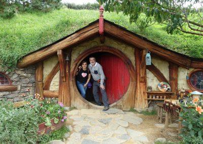 En casa de Frodo. 2018
