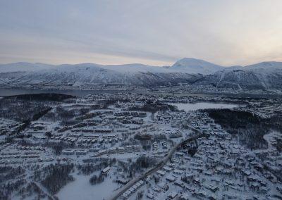 Tromsø desde el aire