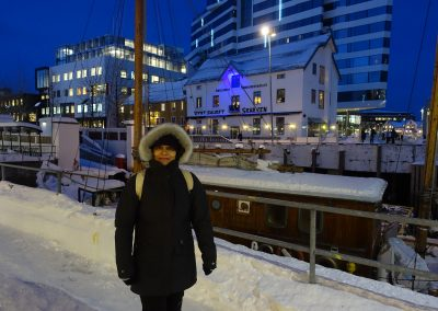Tromsø. Puerto