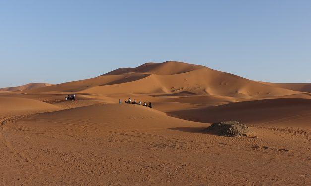 Y el Om se escuchó en las dunas de Merzouga