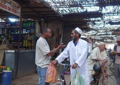 Conversando en Rissani