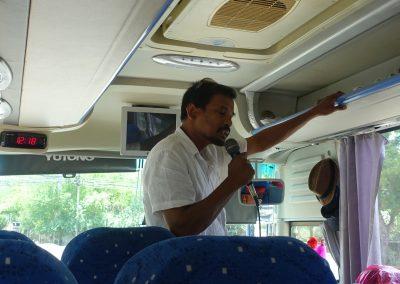 Yanakka en el bus