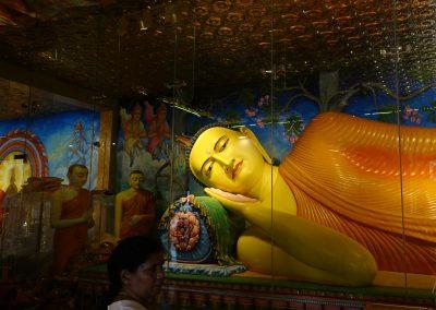 Buda recostado en Anuradhapura