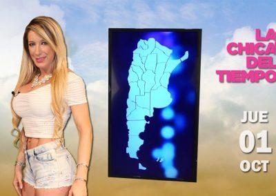 Chica del tiempo. Argentina