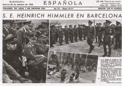 Himmler en Montserrat