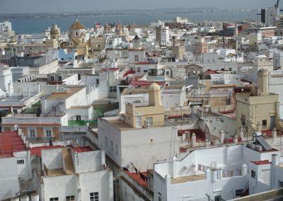 Las torres  de Cádiz