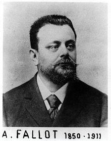 Etienne Louis Arthur Fallot. 1888