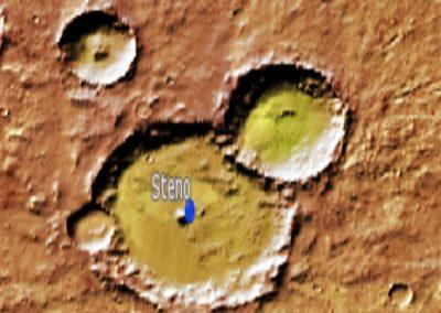 Cráter marciano Steno