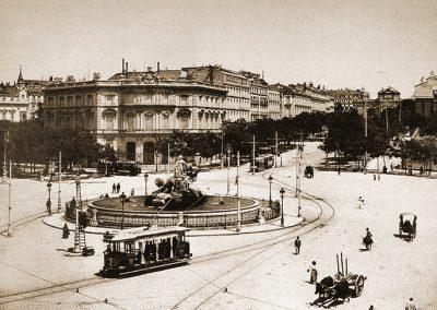 Plaza de Cibeles,1895