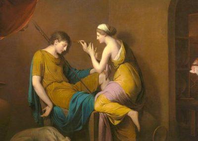 La doncella corintia.  J. Wright, 1783