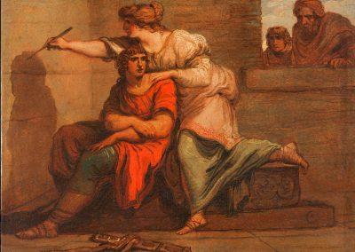 Allegoria della Pittura.  Felice Giani. 1790