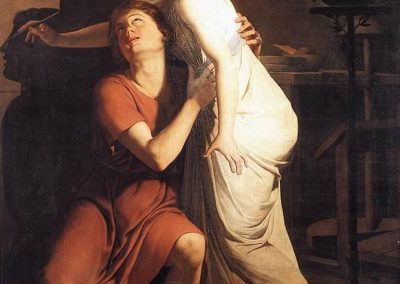 Invención del arte de la pintura. J.B. Suvée, 1791